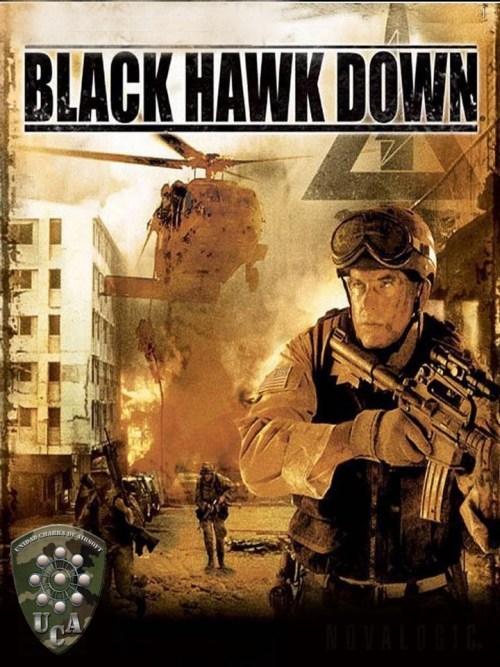 Cronica partida solidaria. Black Hawk Down