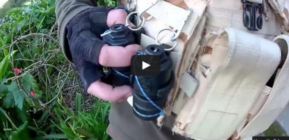 Extracción rapida de granadas