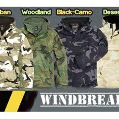Windbraker. Una prenda todoterreno